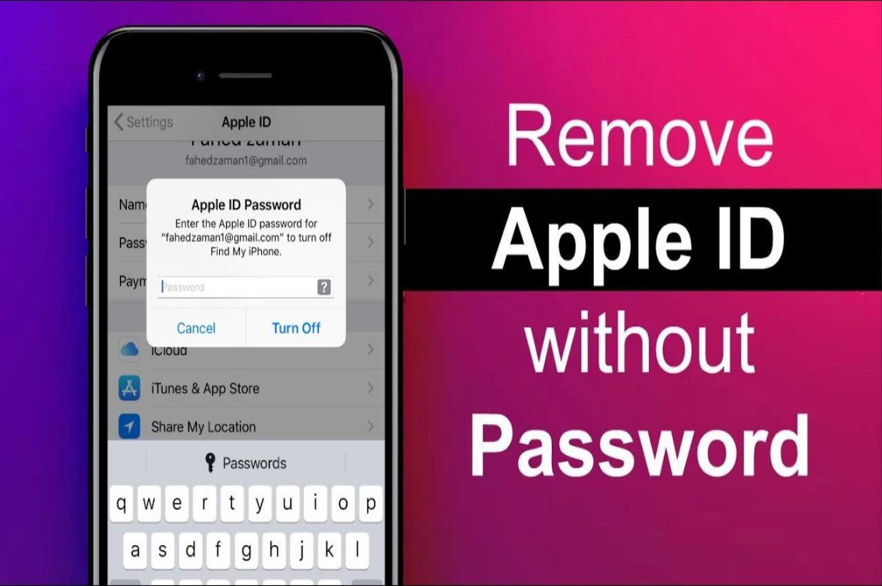 آموزش حذف اپل آیدی (Apple ID) از روی گوشی آیفون
