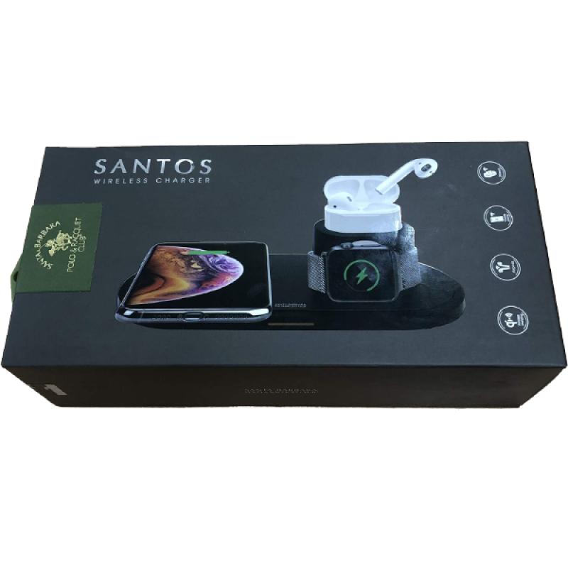وایرلس شارژ 3 کاره  SANTOS