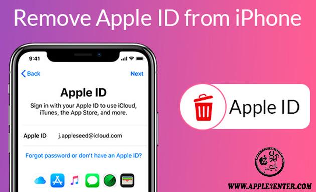 آموزش نحوه حذف اپل آیدی از روی گوشی آیفون