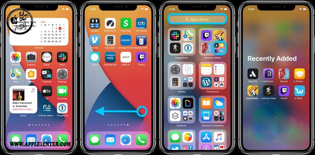 ویژگی App Library در iOS 14