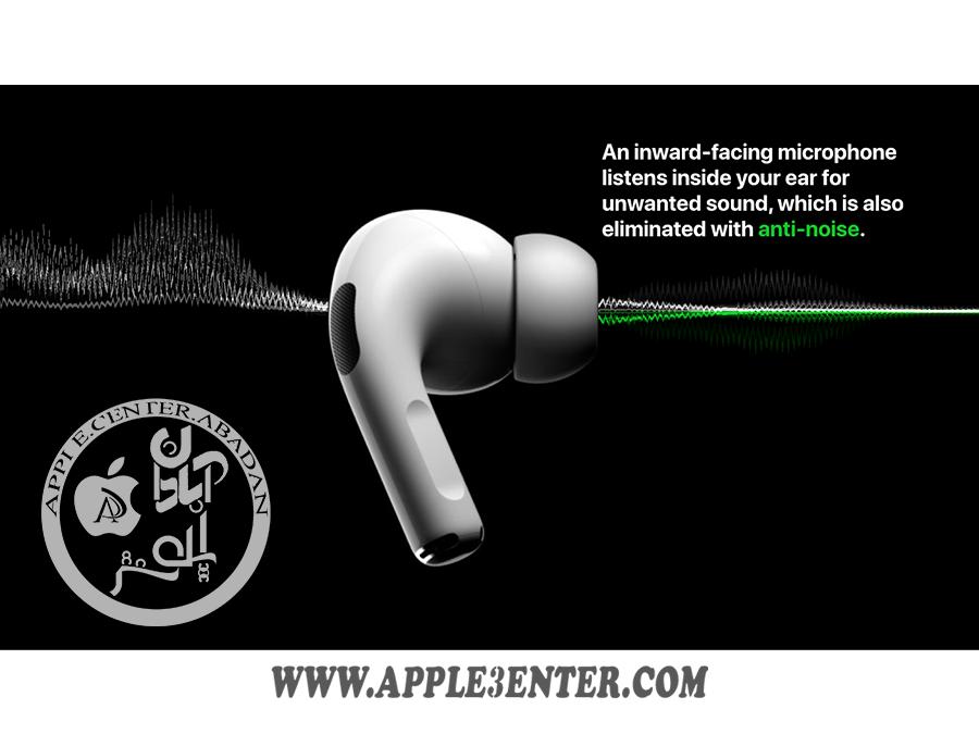 قابلیت anti noise در ایرپاد اپل