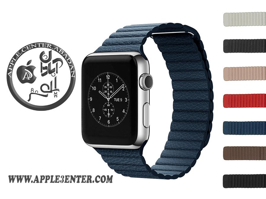 بند چرم حلقهای اپل واچ