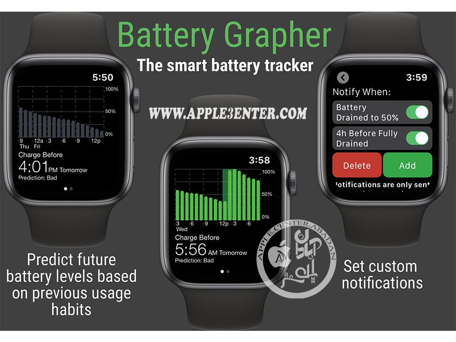 Battery Grapher اپل واچ